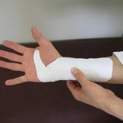 怪我をした時の固定について